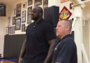 BASKETBALL COP FOUNDATION TRAVELS TO SHAQ'S HOUSE!