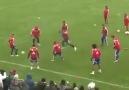 Bayern München in dar Alanda Pas Çalışması