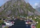 Beautiful Island Lofoten in Norway