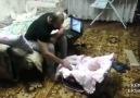 Bebeği Koruyan Kedi