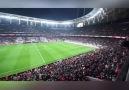 Beşiktaş maçında yer gök Binali başkan diye inledi...
