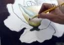 Beyaz Gül Boyama-1