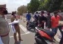 Beyşehir - Hindistan polisi sokağa çıkma yasağına...