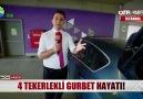BİR HAFTADIR OTOMOBİLDE YATIP KALKIYOR!