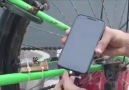Bisiklette telefon şarj etmek