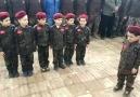 Bizler doğuştan askeriz Muhammedin sav askerleriyiz osmanlı torunlariyiz