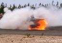 !..BMW E30 Cabrio S38 TIC Burnout..! ;)