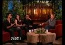 Breaking Dawn Cast on Ellen show Part 1