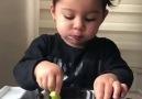 Brokoli böyle yenir )