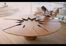 Bu Masayı Yapan Marangoz Kör Oldu :)