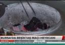 Bursada Beşiktaş maçı heyecanı