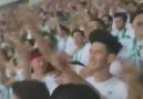 Bursaspor - Konyaspor maçının 26. dakikasında Konyaspor tribünleri.