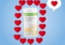 Bütün kalpler Herbalife Vanilya Aromalı Formül 1 Shake için atıyor.