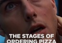 BuzzFeed Sweaty - Stages of Ordering Pizza Facebook