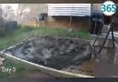 Canı pizza isteyince 15 günde evinin bahçesine fırın yapan adam
