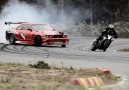 Car vs Bike Top Drift Battle