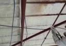 Çatı altı sprey Poliüretan ısı ses ve su izolasyonu