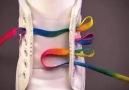 Çeşitli ayakkabı bağcığı bağlama stilleri.