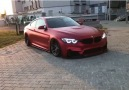 Check out this Satin Red Wrapped M4