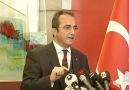 CHP Genel Başkan Yardımcısı Bülent Tezcandan açıklama