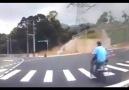 Çin de Çok İlginç Motor Kazası