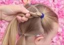 Çocuklar için okula dönüş saç modeli