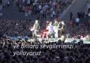 Coldplay'ın sahnede Türk Bayrağı açtı