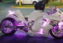 Color Changing Motorcycle
