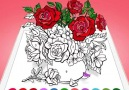 Coloring book for iOS.1000 colorful palettes and beautiful pages!