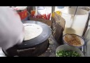 Cooking Chinese Crepe on the Street! - Please SHARE