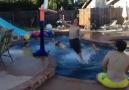 Crazy Backyard Pool Alley-Oop