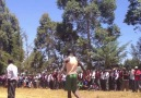 Crazy Hops in a Kenyan High Jump Competition