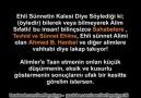 Cübbeli Ahmet Sahabelere ve Ahmed b. Hanbel'e  Vahhabi Diyor!