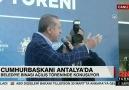 Cumhurbaşkanı Erdoğan Antalyada konuşuyor