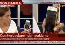 Cumhurbaşkanı Erdoğan, Darbe Girişimi Hakkında Açıklama Yaptı