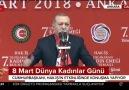 Cumhurbaşkanı Erdoğan Konuşma yapıyor