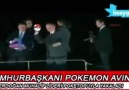 Cumhurbaşkanı Erdoğan Pokemon Avında