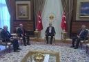 Cumhurbaşkanı Erdoğan, Siyasi Parti Liderlerini Kabul Etti