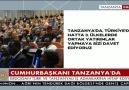 Cumhurbaşkanı Erdoğan Tanzanya'da