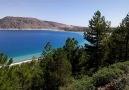 Dağdan Salda Gölü Manzarası.