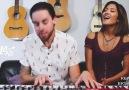 3 Dakikada 2014'ün En Hit Parçalarını Söyleyen Sevimli Çift