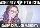 DALIDA KHALIL NOW ON FASHIONTV!
