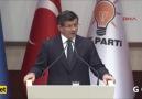 Davutoğlu'nun Mursi yorumu ayakta alkışlandı