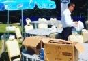 Denizimparkta SütAşkı Festivali Hazırlık aşaması...