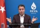 Deva Partisi - Genel Başkanımız Ali Babacan düşünce...