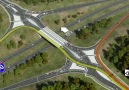 Diverging Diamond Interchange Visualization