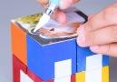 DIY Infinity Photo cube