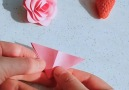 DIY lovely and simple paper flowers