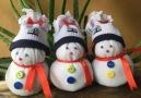 DIY Sock SnowmanBy Crafty Daily