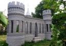 3D-printed castle